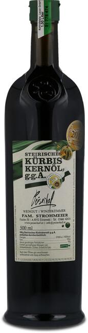 Steirisches Kürbiskernöl ggA 0.5l